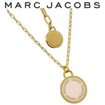MARC JACOBS ネックレス ロゴディスク ペンダント M0008546-106