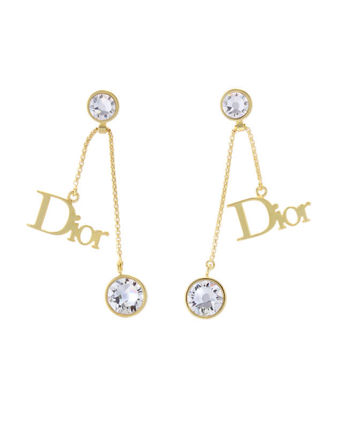 Christian Dior earrings gold DIOR BY DIOR