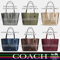 COACH★大人気☆MARKET TOTE IN REFINED PEBBLE LEATHER 37756