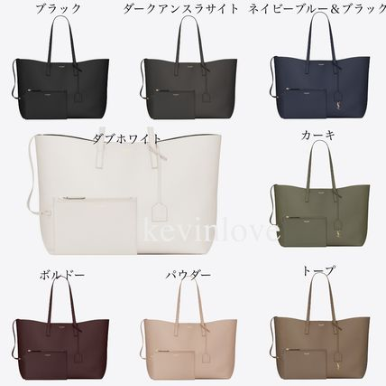 New colors in stock Very s SAINT LAURENT Pouch with tote bag