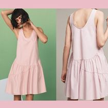 【Anthropologie】セール★ワンピースBlushed Poplin
