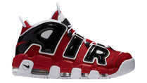 Nike Air More Uptempo 黒×赤 シカゴカラー☆ピッペン税・送込