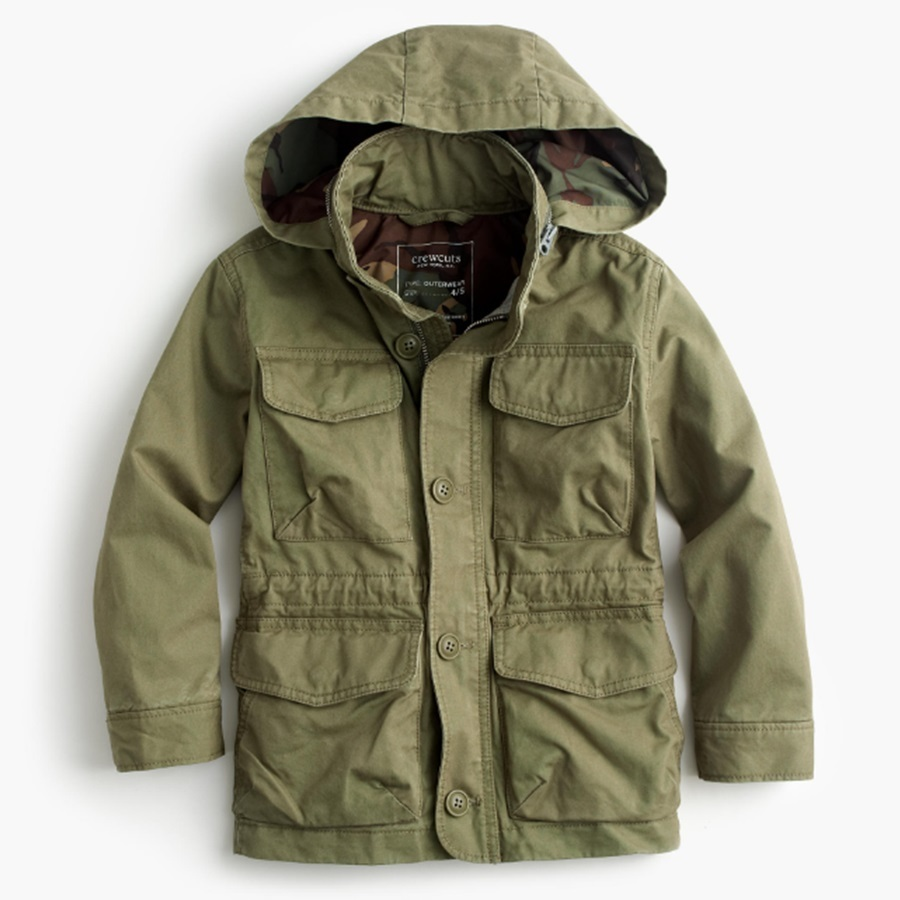 国内発送 JCrew Boys' utility jacket