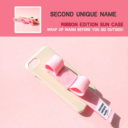 SECOND UNIQUE NAME スマホケース・テックアクセサリー [SECOND UNIQUE NAME]RIBBON EDITION /iPhone ★大人気★