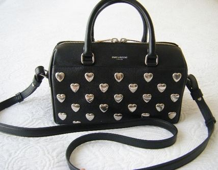 Saint Laurent babydaffle 3 popular heart studded