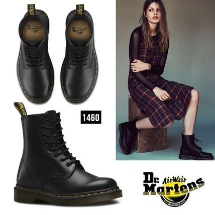 Dr. Martens 1460 8 EYE boot classic black smooth
