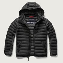 A & F フードつきAll-Season Lightweight Down Jacket