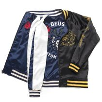 Deus Ex Machina・SOUVENIR JACKET BLACK / NAVY