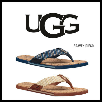 Charges included popular UGG mens Sandals BRAVEN DIEGO