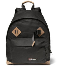Padded Pak'r Leather-Trim Canvas Backpack コラボバックパック