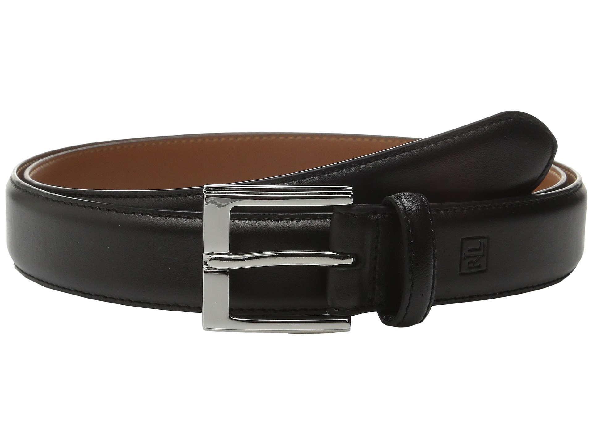 Ralph Lauren★Step Down Buckle Belt ベルト Black