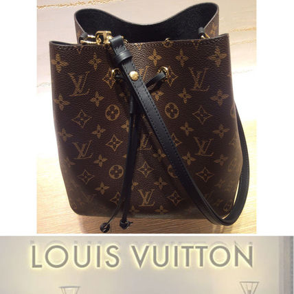 Louis Vuitton none bucket bag Monogram NEONOE