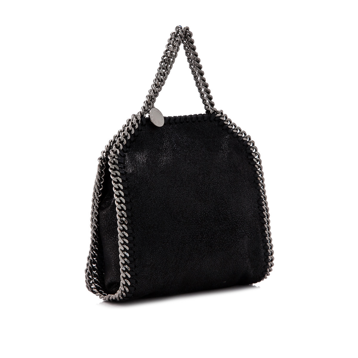 関税送料込 STELLA McCARTNEY FALABELLA TINY TOTE BLACK SILVER