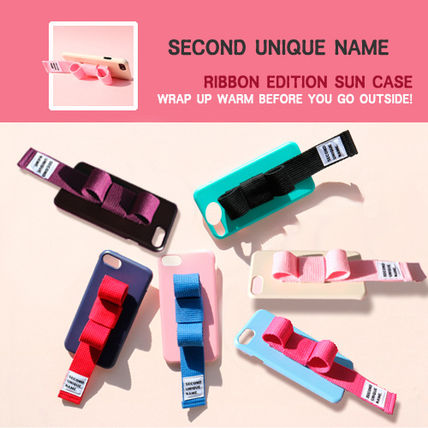 SECOND UNIQUE NAME スマホケース・テックアクセサリー [SECOND UNIQUE NAME] RIBBON EDITION /iPhone ★大人気★