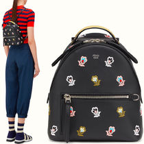 FE1482 FLORAL EMBROIDERED MINI BACKPACK