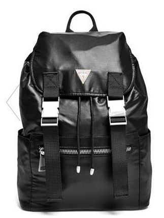 追尾/関税込 GUESS PARACHUTE BACKPACK black 17GUPM001