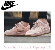☆大人気☆Nike Air Force 1 Upstep Premium ピンク♪