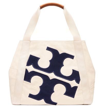 Time limited sale Tory Burch BEACH LOGO TOTE tote