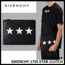【GIVENCHY】17SS STAR CLUTCH クラッチバッグ BK06072266 001