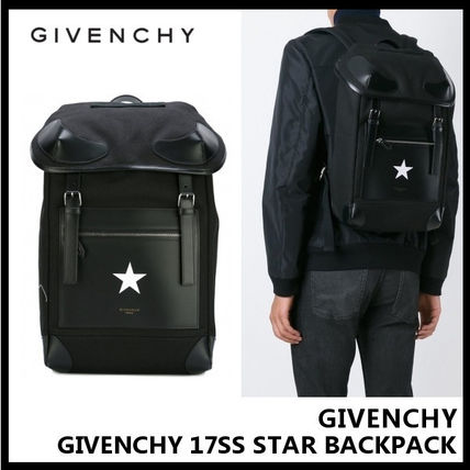 GIVENCHY 17SS STAR BACKPACK backpack BJ05004568 001