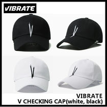 【VIBRATE バイブレート】V CHECKING CAP(white / black)