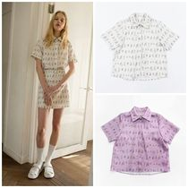 日本未入荷SALAD BOWLSのPEOPLE HALF BLOUSE 全2色