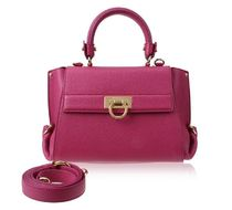 【関税負担】 FERRAGAMO SOFIA BAG SMALL SANGRIA