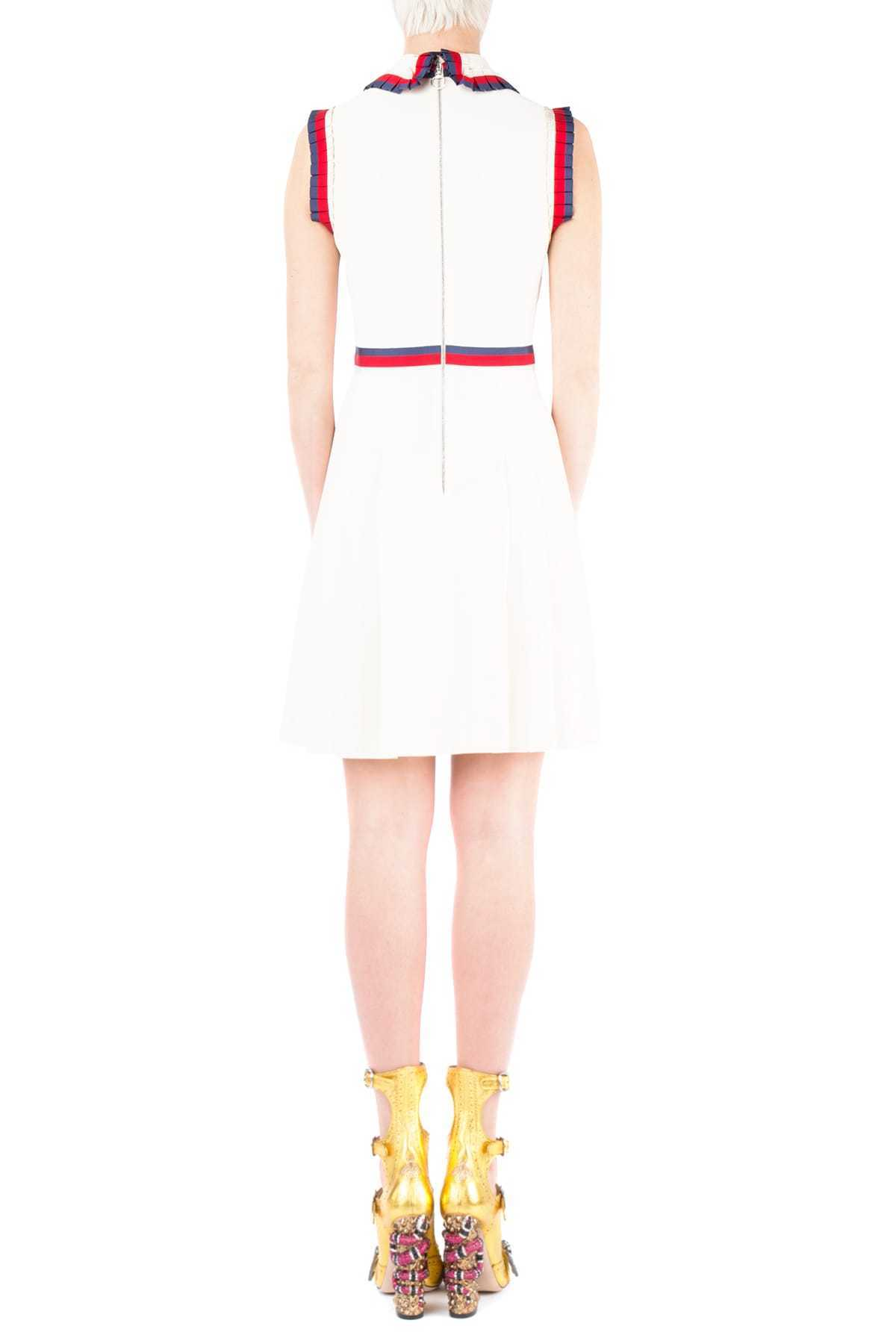GUCCI(グッチ)☆Ivory stretch viscose dress☆ホワイト系