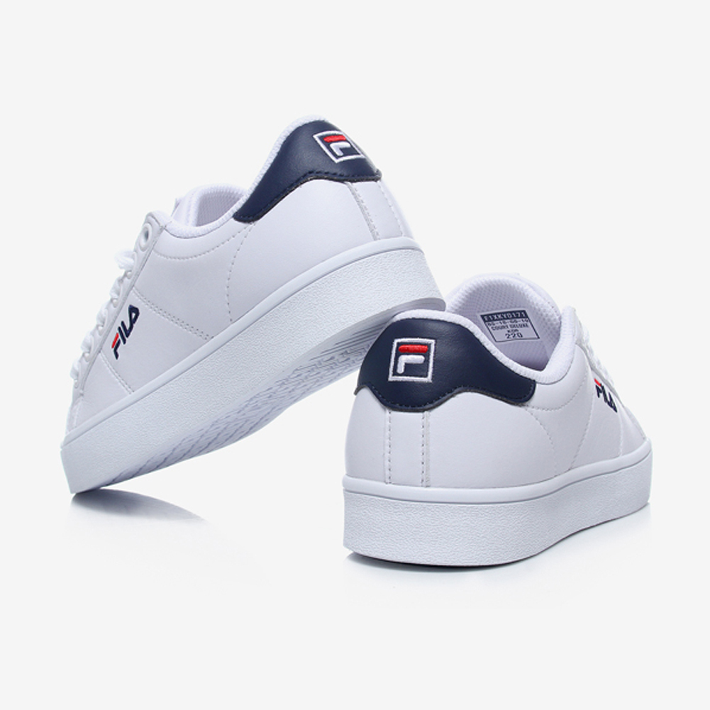 日本未入荷FILA★COURT DELUXE WHITE NAVY