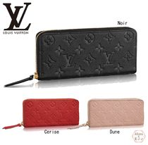 Louis Vuitton☆PORTEFEUILLE CLEMENCE*ジップラウンド長財布☆
