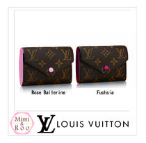 Louis Vuitton*全2色*PORTEFEUILLE VICTORINE*コンパクト長財布