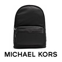 大人気 ☆Michael Kors☆ KENT Nylon Backpack BLACK♪