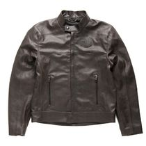 Deus Ex Machina・DEUS X DAINESE LEATHER RIDING JACKET BROWN