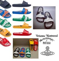 ◆2017NEW◆MAN Vivienne×Melissa Beach Slideスリッパサンダル