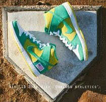 Nike SB Dunk High 'Oakland Athletics' ワールドシリーズ