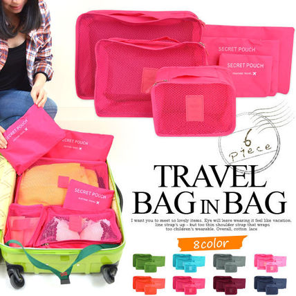 Travel storage bag 6-point travel small case Pouch small