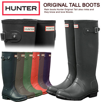 Hunter rain boots Womens HUNTER rubber boots genuine