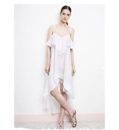 I.D.Sarrieri★SUMMERTIME ASYMMETRIC BEACH DRESS★