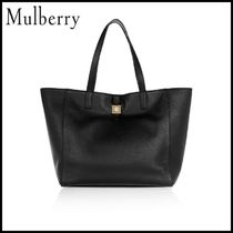【Mulberry(マルベリー)】 leather tote