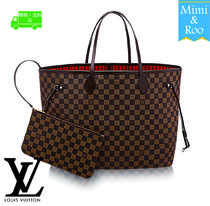 Louis Vuitton☆ダミエ*ポーチ付き☆NEVERFULL GM☆トートバッグ