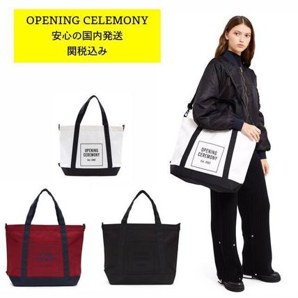 Opening Ceremony OC LOGO weekend bag