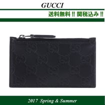 2017SS関税込★GUCCI(グッチ)Gucci Signature leather card case