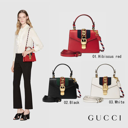 Sylvie GUCCI leather 3-way mini shoulder bag