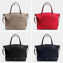 【COACH】新作☆軽量!NYLON SATCHEL 2way F57902☆全4色☆