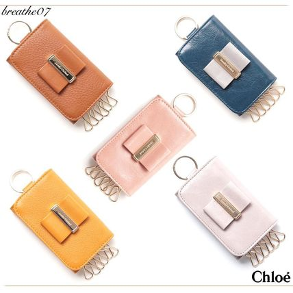 SEE BY CHLOE Keyring with 6 leather key case / multicolor
