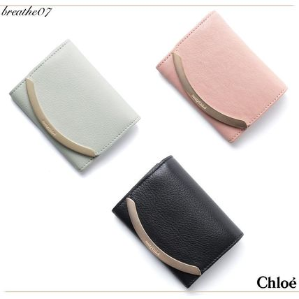 SEE BY CHLOE LIZZIE leather bifold wallet / multicolor