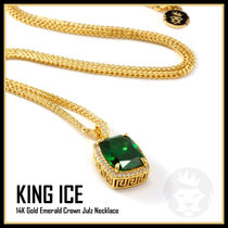 【King Ice】Emerald Crown Julz Necklace★送料税込/国内発送