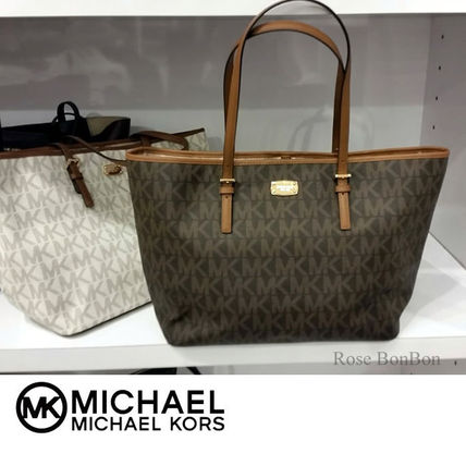 Michael Kors トートバッグ 【Michael Kors】JET SET TRAVEL Large Carryall トート