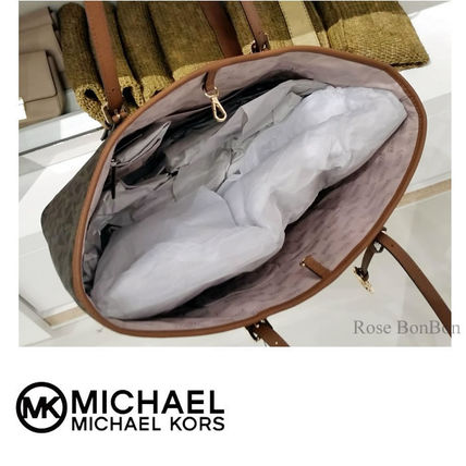 Michael Kors トートバッグ 【Michael Kors】JET SET TRAVEL Large Carryall トート (3)