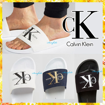 Calvin Klein logo with Sport Sandals